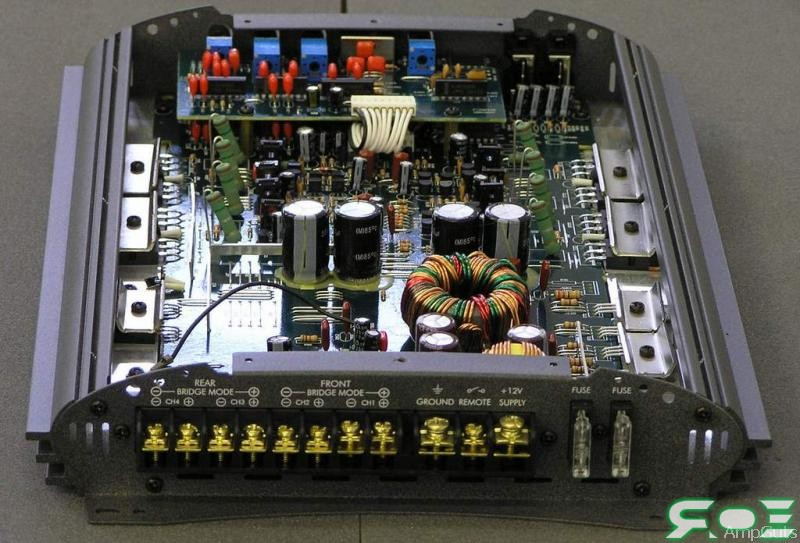 Горит усилитель Blaupunkt. дешевый усилок(Blaupunkt GTA-4100) сломался, сам по себе.  Вопрос про blaupunkt bremen 76...
